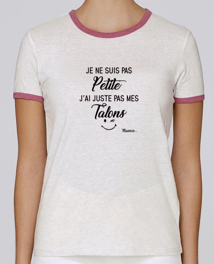 T-shirt Femme Stella Returns Je ne suis pas petite, j'ai juste pas mes talons pour femme par tunetoo