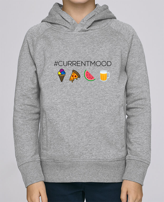 Sweat à Capuche Enfant Stanley Mini Base #Currentmood par tunetoo