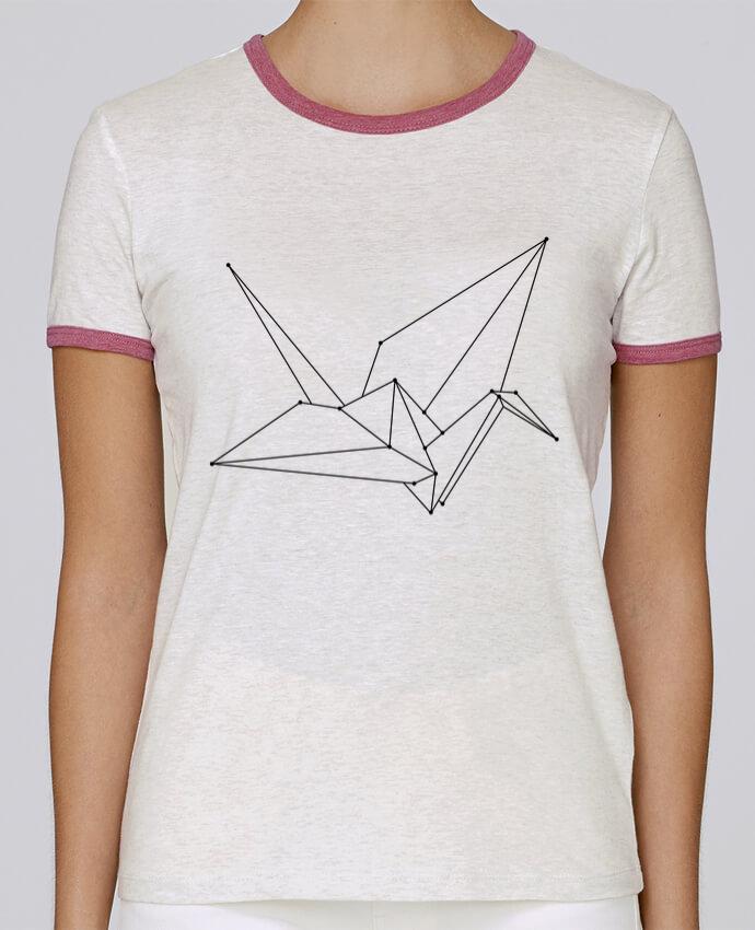 T-shirt Femme Stella Returns Origami bird pour femme par /wait-design
