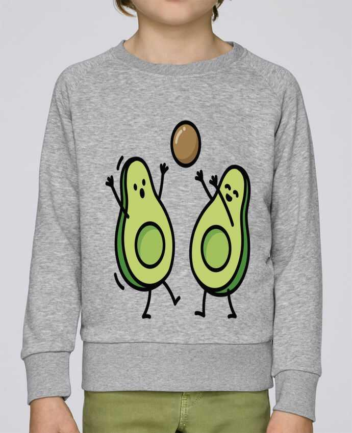 Sweat Col Rond Enfant Stanley Mini Scouts Avocado handball par LaundryFactory