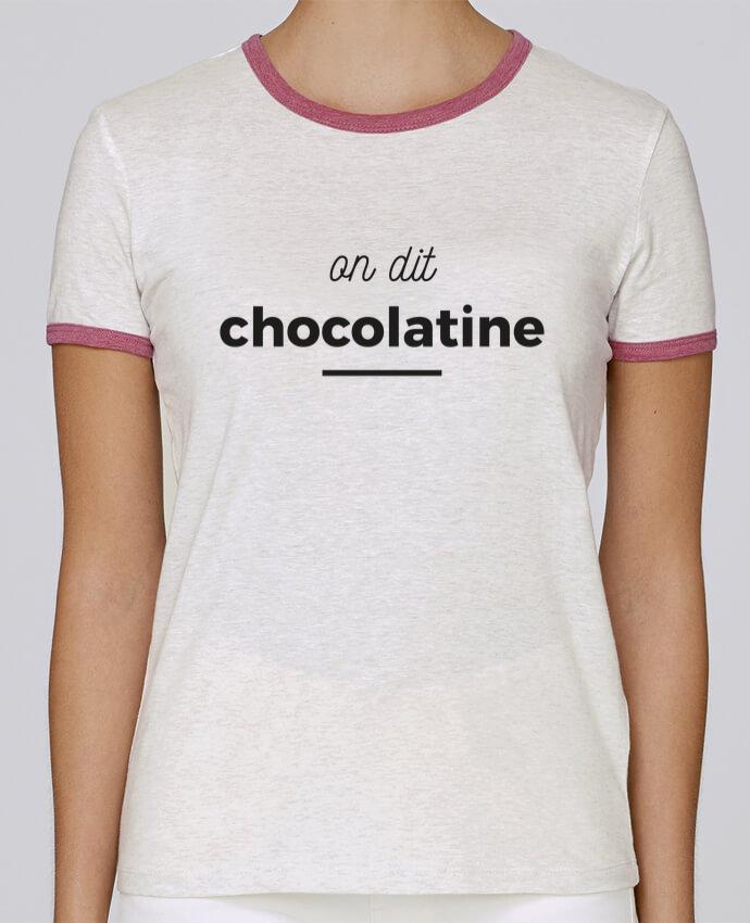 T-shirt Femme Stella Returns On dit chocolatine pour femme par Ruuud