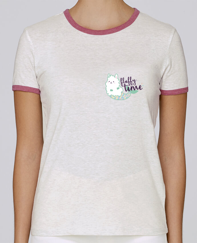 T-shirt Femme Stella Returns Mermaid Fluffy pour femme par Nana