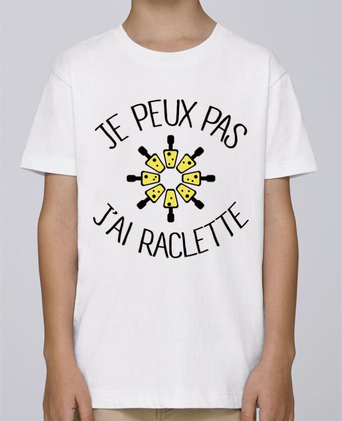 Tee Shirt Garçon Stanley Mini Paint Je peux pas j'ai Raclette par Freeyourshirt.com