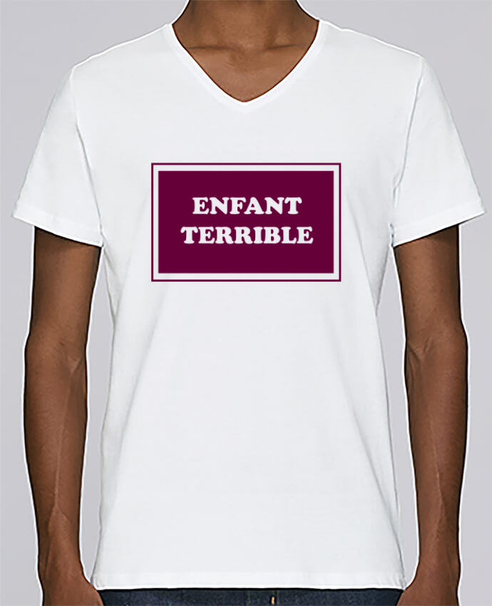 T-shirt Col V Homme Stanley Relaxes Enfant terrible par tunetoo