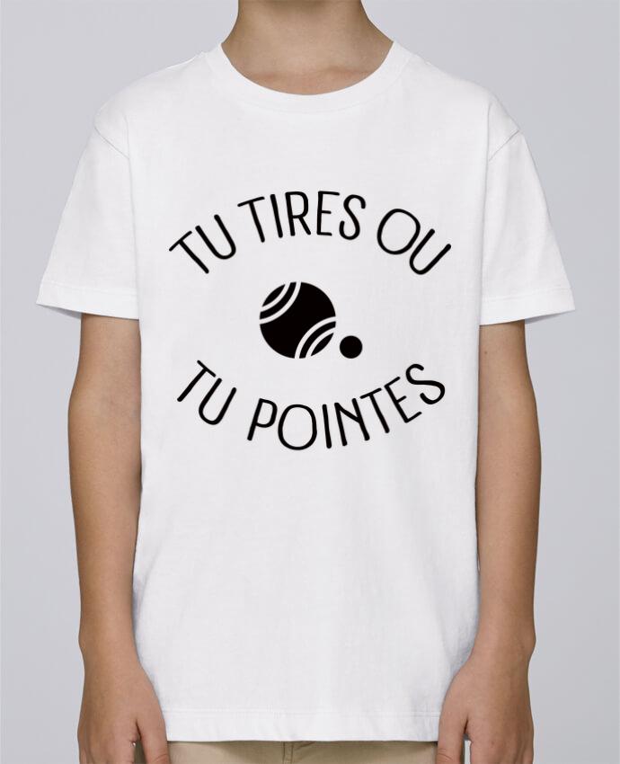 Tee Shirt Garçon Stanley Mini Paint Tu Tires Ou Tu Pointes par Freeyourshirt.com