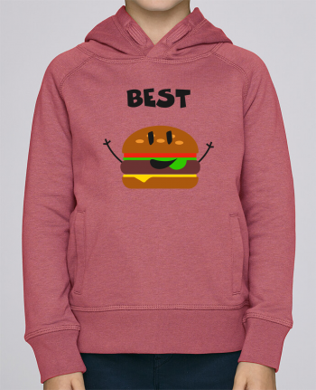 Sweat à Capuche Enfant Stanley Mini Base BEST FRIENDS BURGER 1 par tunetoo