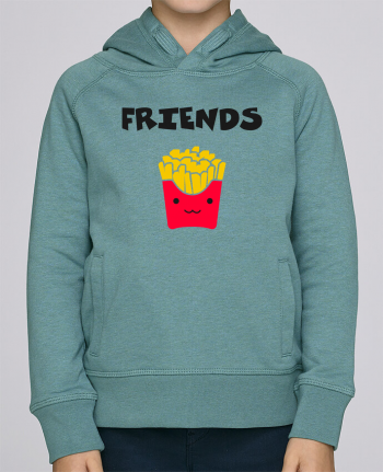 Sweat à Capuche Enfant Stanley Mini Base BEST FRIENDS FRIES par tunetoo