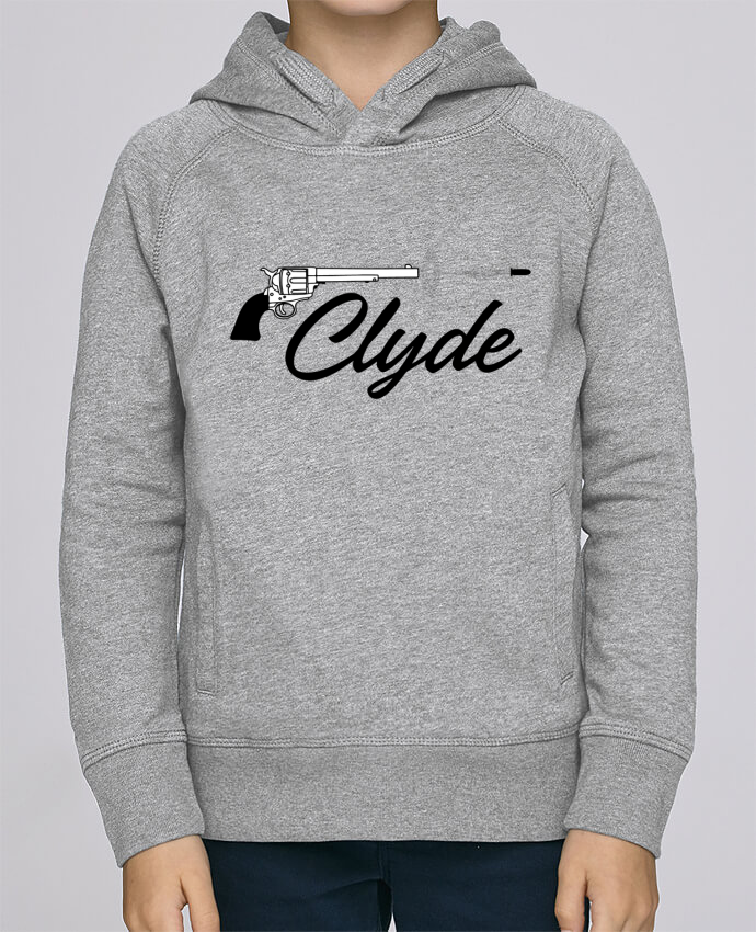 Sweat à Capuche Enfant Stanley Mini Base Clyde par tunetoo