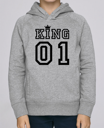 Sweat à Capuche Enfant Stanley Mini Base King 01 par tunetoo