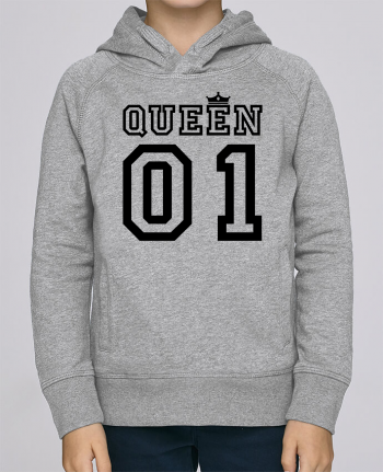 Sweat à Capuche Enfant Stanley Mini Base Queen 01 par tunetoo