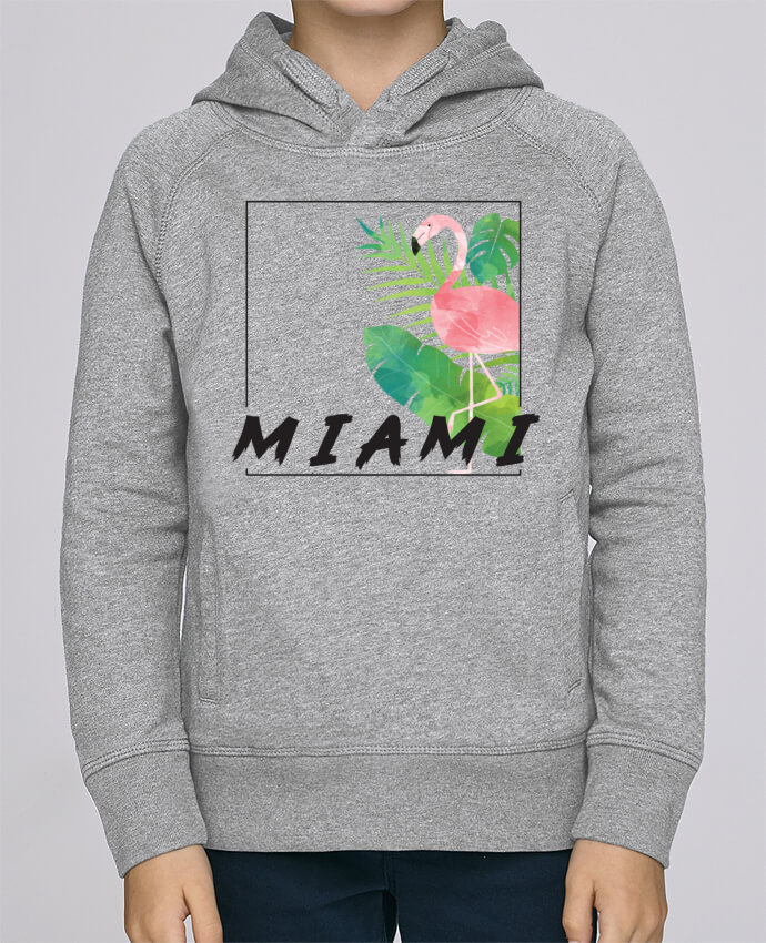 Sweat à Capuche Enfant Stanley Mini Base Miami par KOIOS design