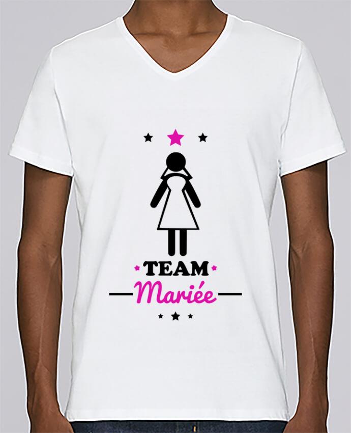 T-shirt Col V Homme Stanley Relaxes Team mariée : enterrement de vie de jeune fille par Benichan