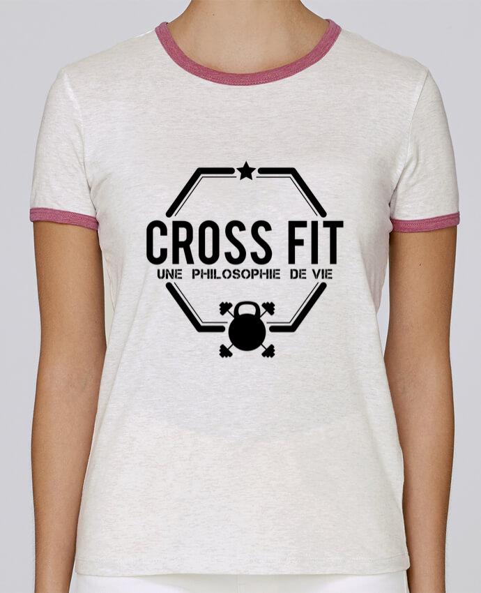 T-shirt Femme Stella Returns Crossfit une philosophie de vie pour femme par tunetoo