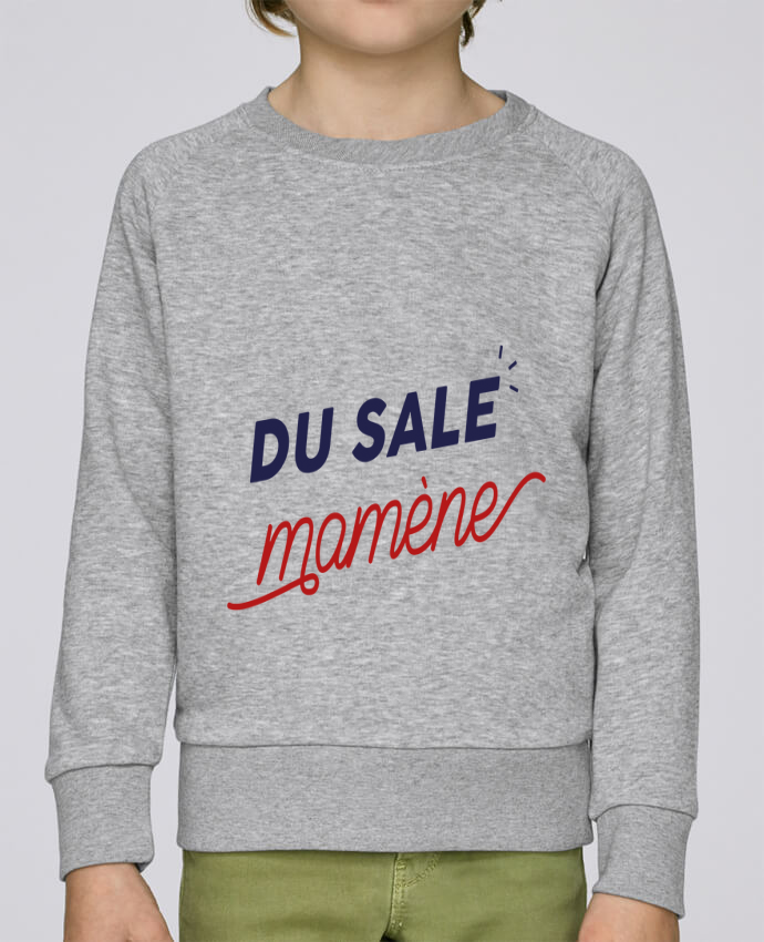 Sweat Col Rond Enfant Stanley Mini Scouts du sale mamène by Ruuud par Ruuud