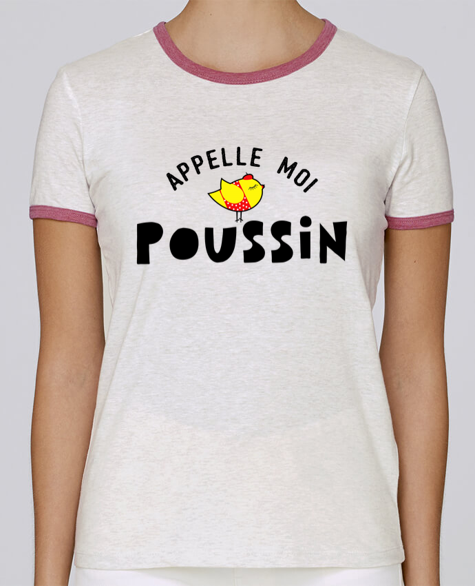 T-shirt Femme Stella Returns Appelle moi poussin pour femme par tunetoo