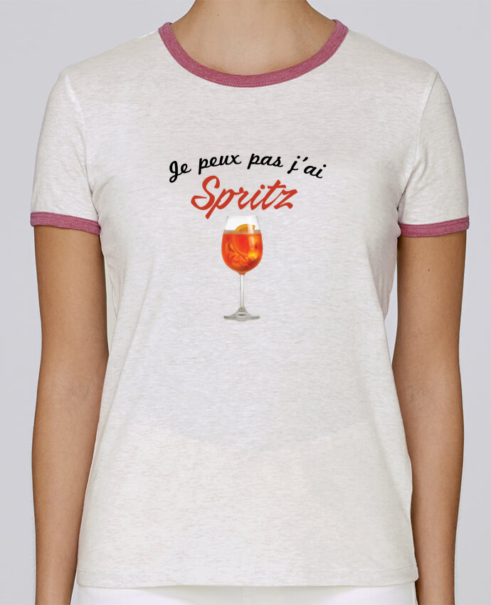 T-shirt Femme Stella Returns Je peux pas j'ai Spritz pour femme par tunetoo