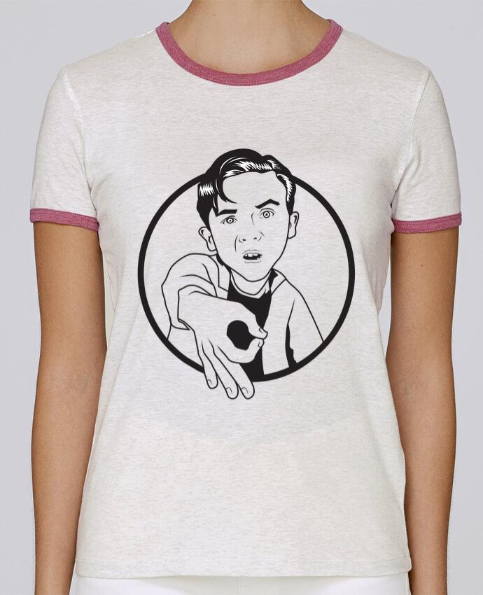 T-shirt Femme Stella Returns Malcolm, jeu de l'oeil pour femme par tunetoo