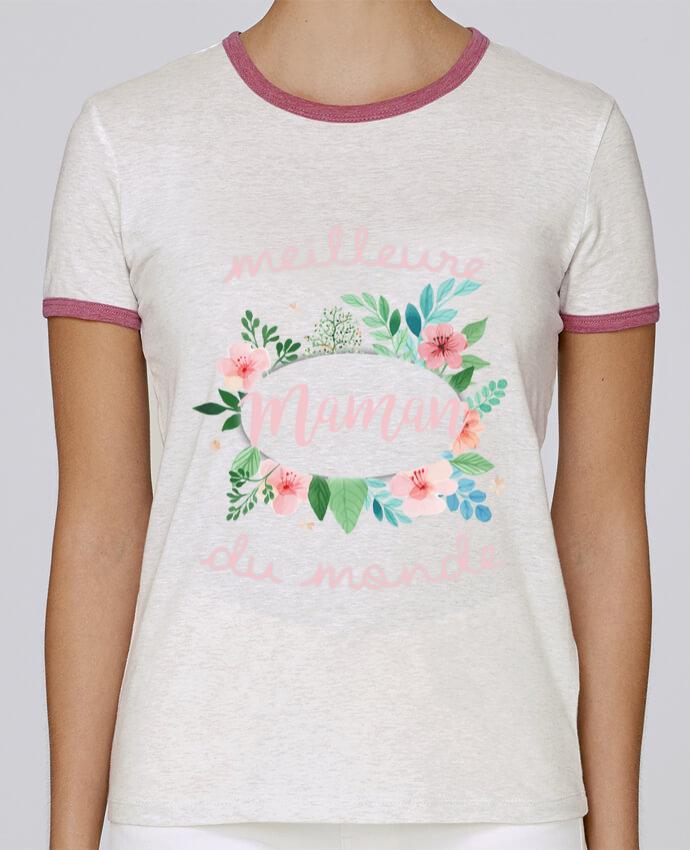 T-shirt Femme Stella Returns Meilleure maman du monde pour femme par FRENCHUP-MAYO