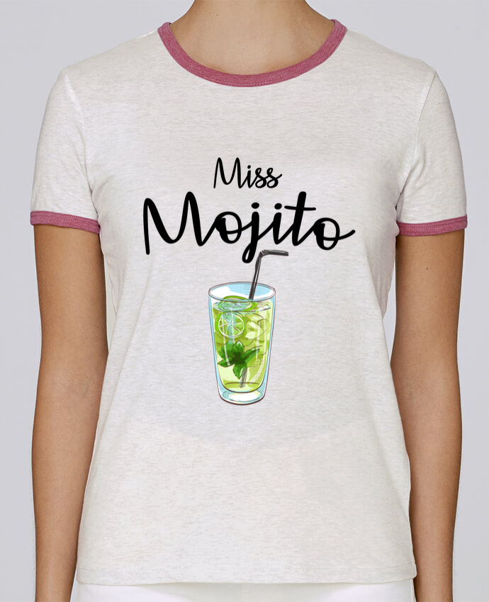 T-shirt Femme Stella Returns Miss Mojito pour femme par FRENCHUP-MAYO