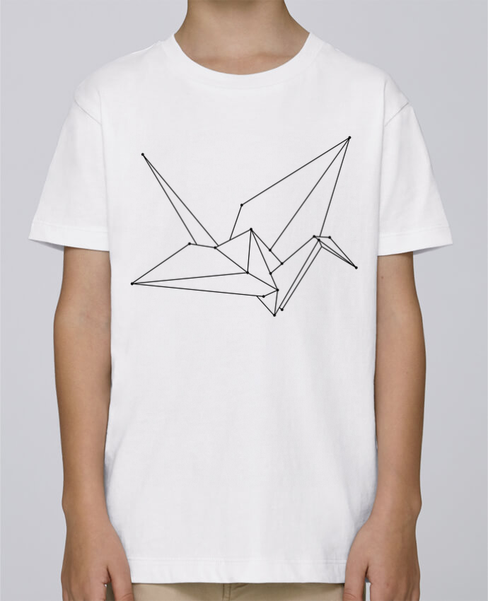 Tee Shirt Garçon Stanley Mini Paint Origami bird par /wait-design