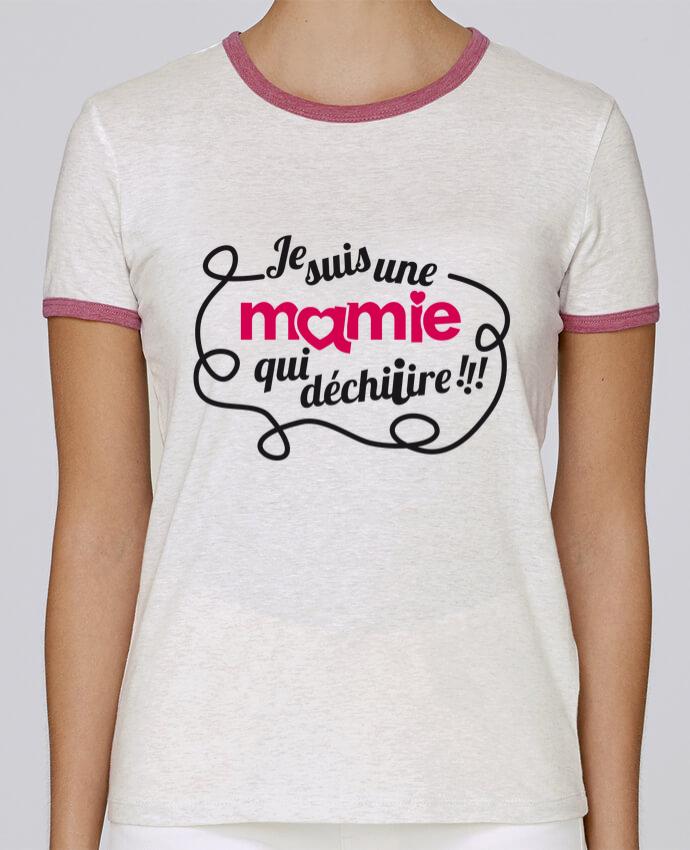 T-shirt Femme Stella Returns Je suis une mamie qui déchire pour femme par GraphiCK-Kids