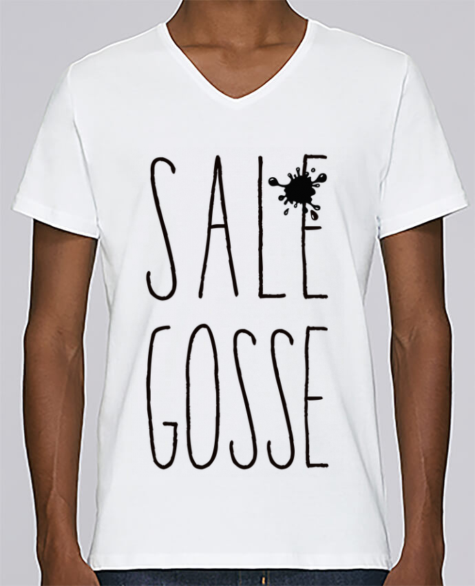 T-shirt Col V Homme Stanley Relaxes Sale Gosse par Freeyourshirt.com