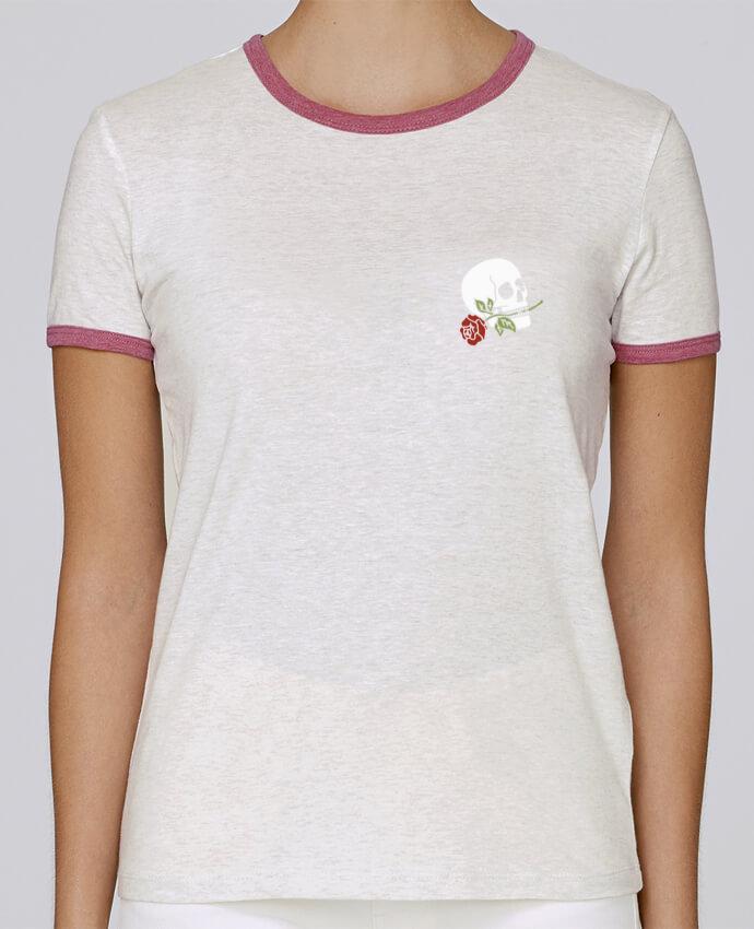 T-shirt Femme Stella Returns Skull flower pour femme par Ruuud