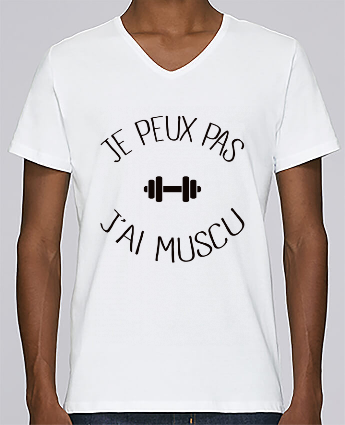 T-shirt Col V Homme Stanley Relaxes Je peux pas j
