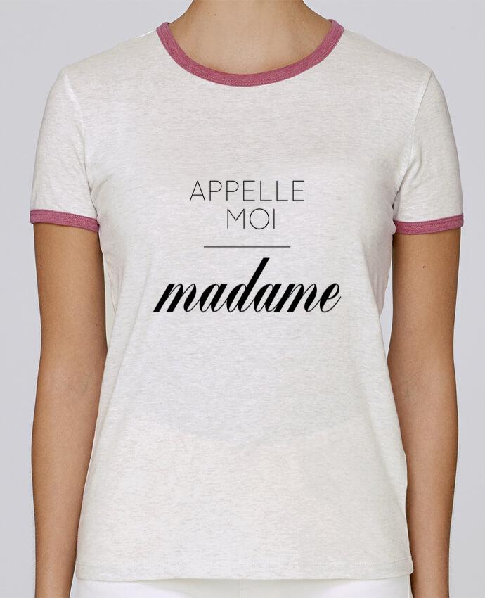 T-shirt Femme Stella Returns Appelle moi madame pour femme par tunetoo