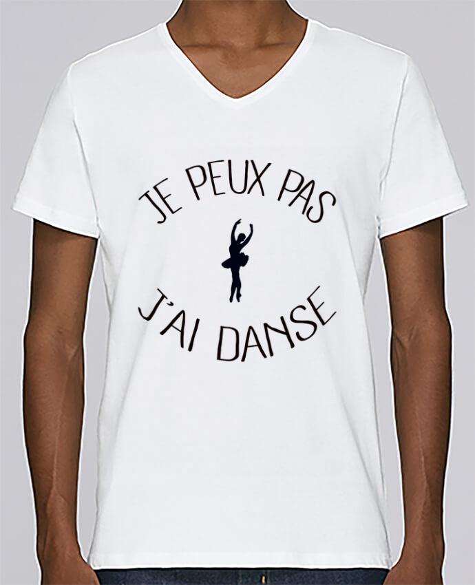 T-shirt Col V Homme Stanley Relaxes Je peux pas j'ai Danse par Freeyourshirt.com