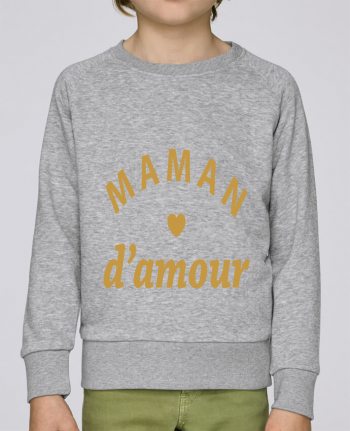 Sweat Col Rond Enfant Stanley Mini Scouts Maman d\'amour par arsen