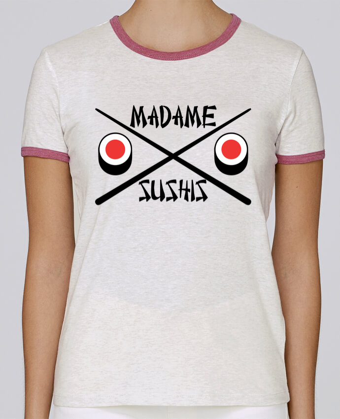 T-shirt Femme Stella Returns Madame Sushis pour femme par tunetoo