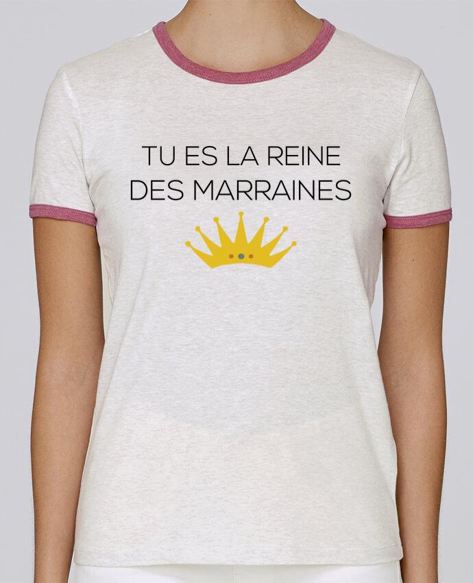 T-shirt Femme Stella Returns Tu es la reine des marraines pour femme par tunetoo