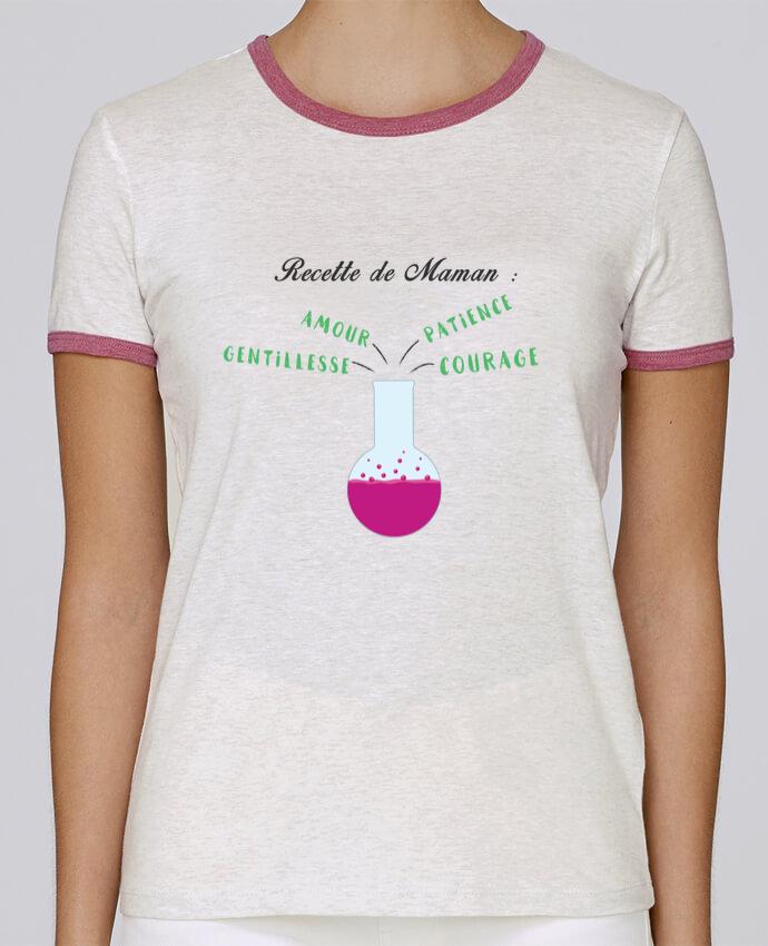 T-shirt Femme Stella Returns Recette de maman pour femme par tunetoo