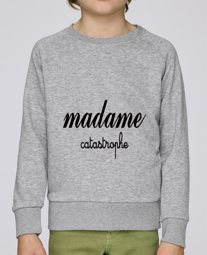 Sweat Col Rond Enfant Stanley Mini Scouts Madame Catastrophe par Freeyourshirt.com