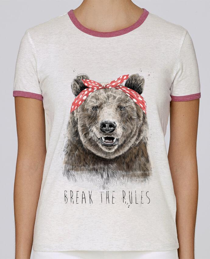 T-shirt Femme Stella Returns Break the rules II pour femme par Balàzs Solti