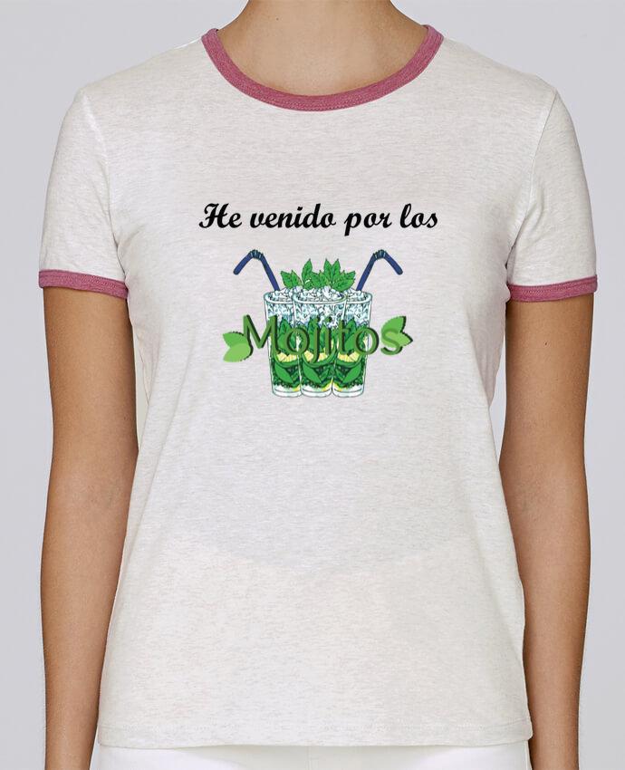 T-shirt Femme Stella Returns He venido por los mojitos pour femme par tunetoo