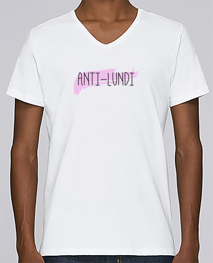 T-shirt Col V Homme Stanley Relaxes Anti-lundi par tunetoo