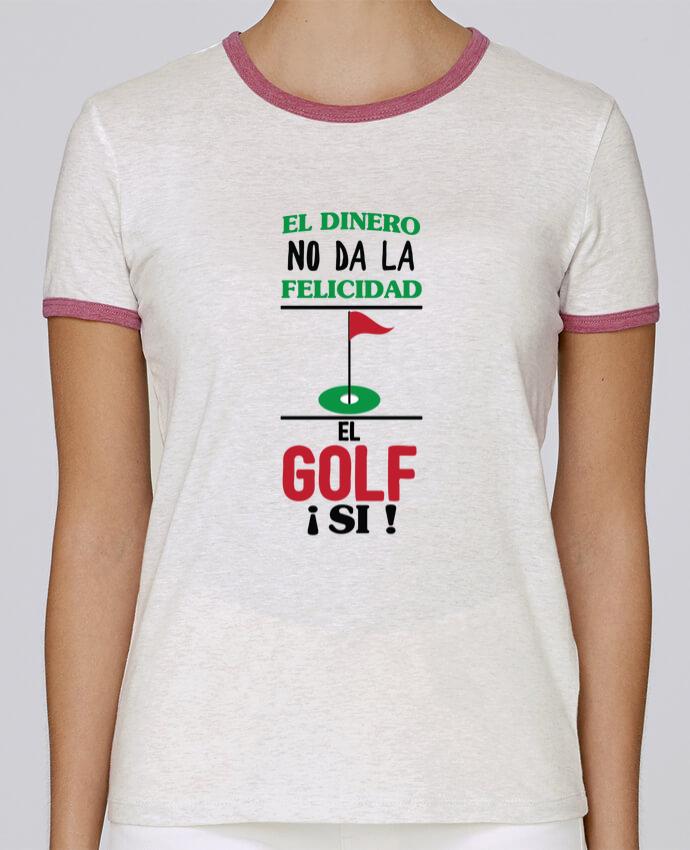 T-shirt Femme Stella Returns El dinero no da la felicidad, el golf si ! pour femme par tunetoo
