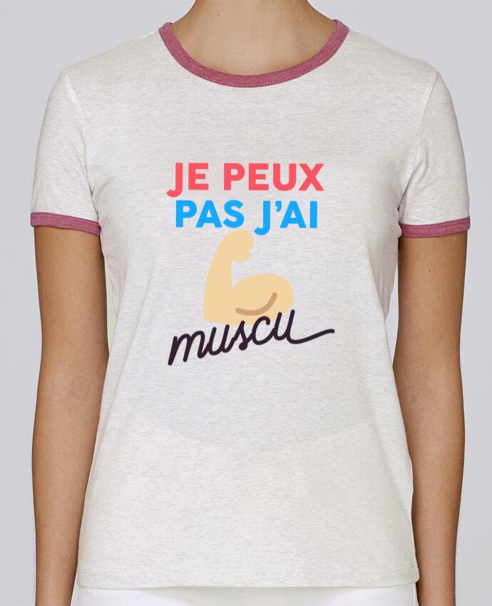 T-shirt Femme Stella Returns je peux pas j'ai muscu pour femme par Ruuud