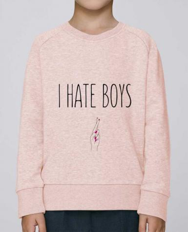 Sweat Col Rond Enfant Stanley Mini Scouts I hate boys par tunetoo