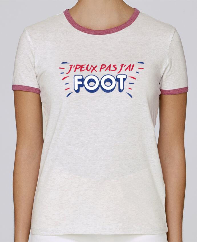 T-shirt Femme Stella Returns J'peux pas j'ai foot pour femme par tunetoo