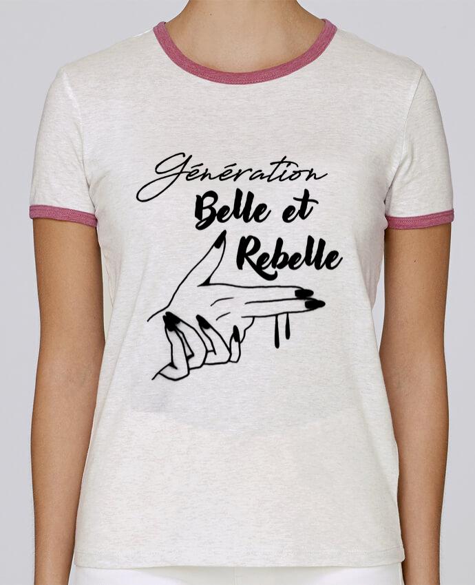 T-shirt Femme Stella Returns génération belle et rebelle pour femme par DesignMe