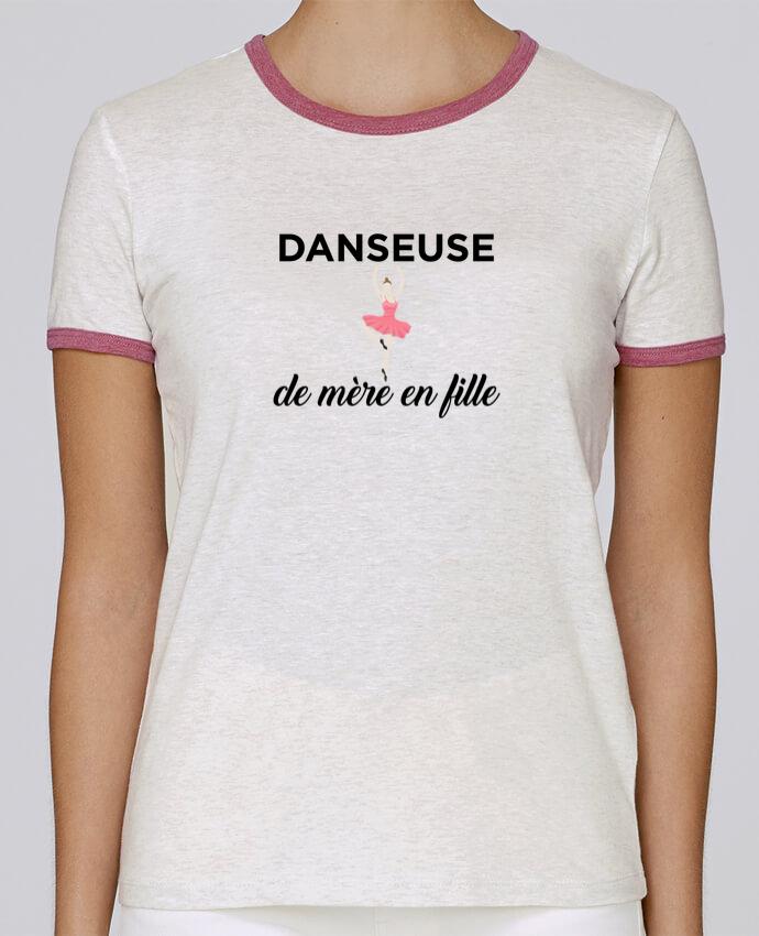 T-shirt Femme Stella Returns Danseuse de mère en fille pour femme par tunetoo