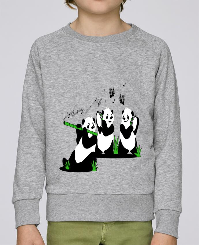 Sweat Col Rond Enfant Stanley Mini Scouts panda's band par CoeurDeChoux