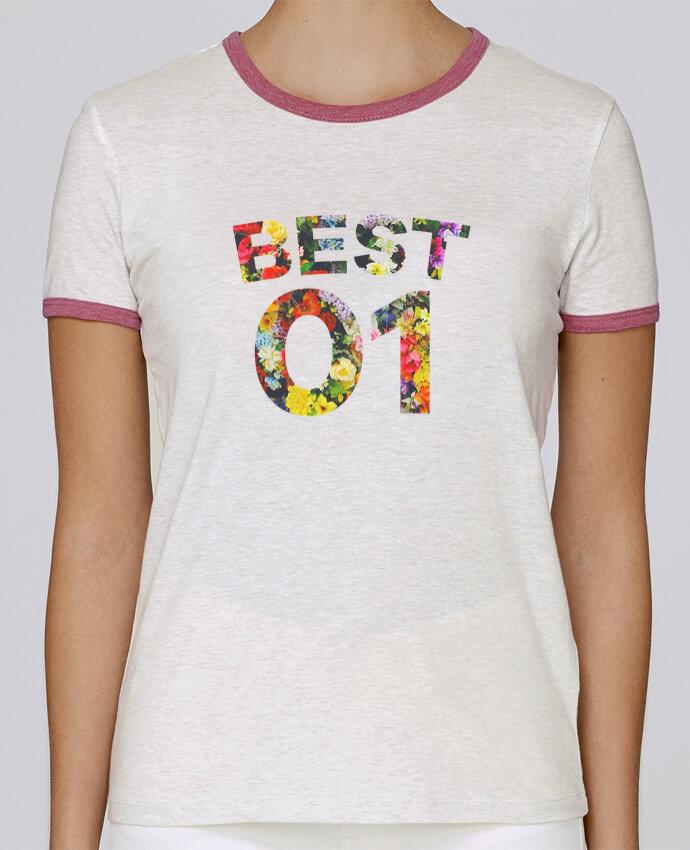 T-shirt Femme Stella Returns BEST FRIENDS FLOWER 1 pour femme par tunetoo