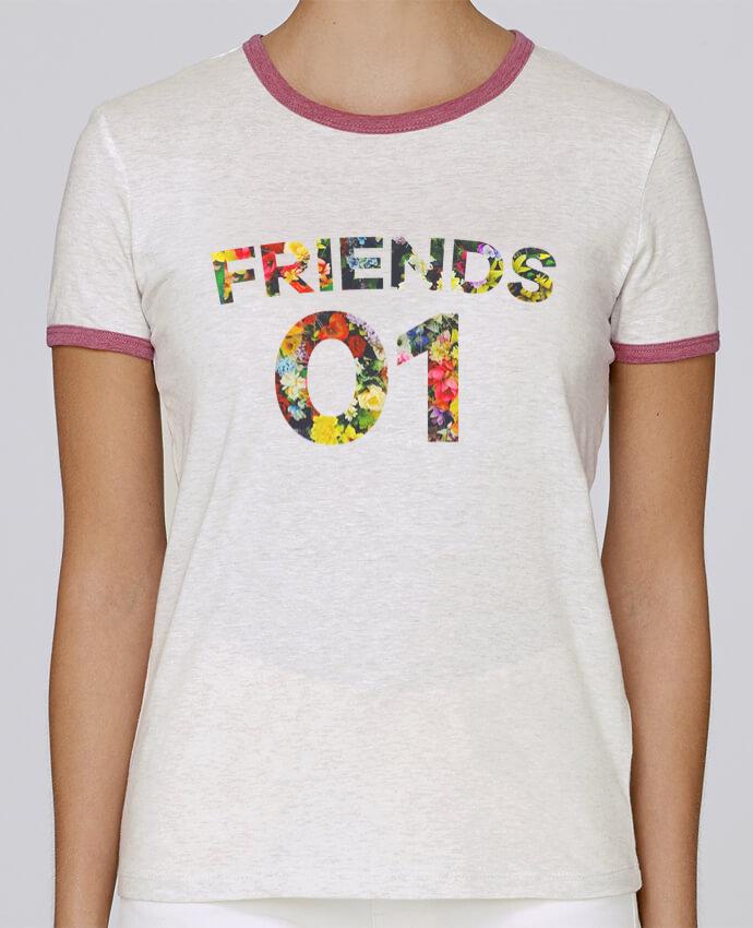 T-shirt Femme Stella Returns BEST FRIENDS FLOWER 2 pour femme par tunetoo