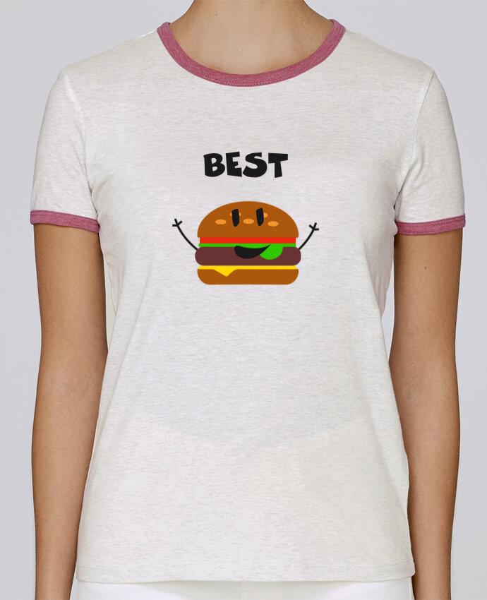 T-shirt Femme Stella Returns BEST FRIENDS BURGER 1 pour femme par tunetoo