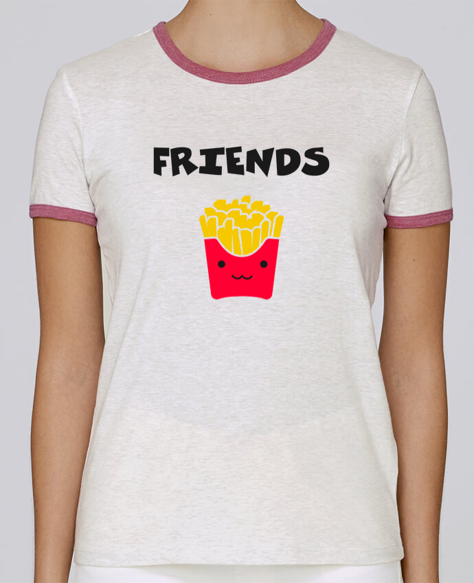 T-shirt Femme Stella Returns BEST FRIENDS FRIES pour femme par tunetoo