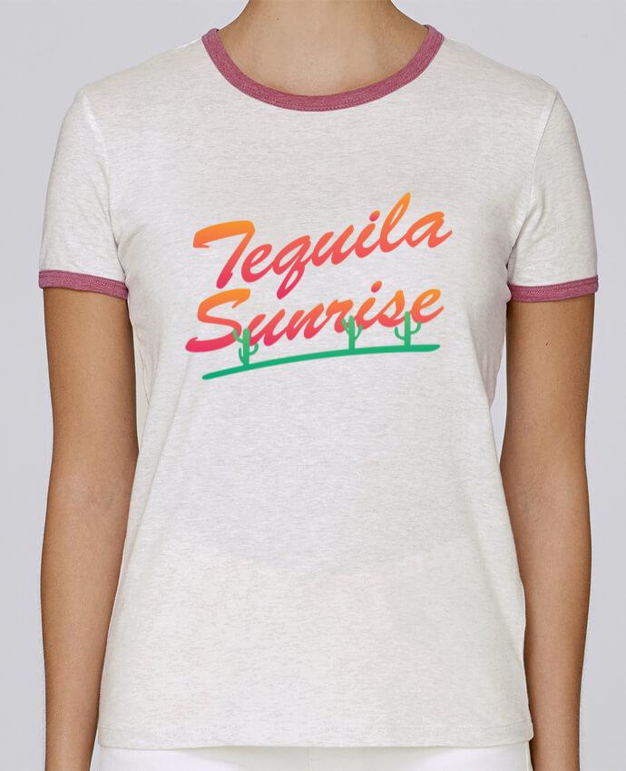 T-shirt Femme Stella Returns Tequila Sunrise pour femme par tunetoo